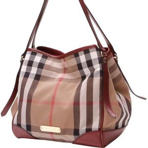 Burberry Bridle House Check Canterbury Tote Bag